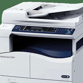 Диагностика и ремонт МФУ Xerox WorkCentre 5024