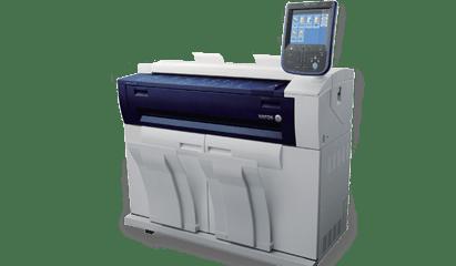 Ремонт плоттера Xerox 6705